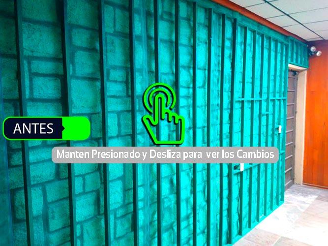 Muro Verde Sports Grass Puebla Antes