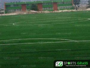 Pasto Sintetico Cancha de Futbol Soccer Sultepec Mexico 2