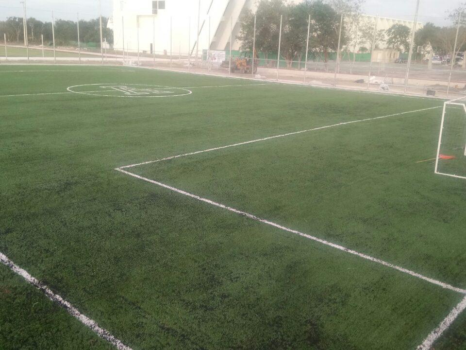 Pasto Sintetico Cancha de Futbol Merida Yucatan 5