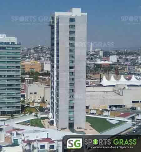 Pasto Sintetico Condominios Angelopolis Puebla