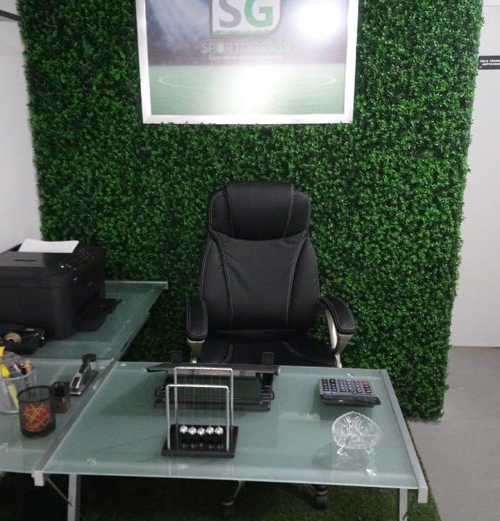 Muro Verde Oficina Sports Grass