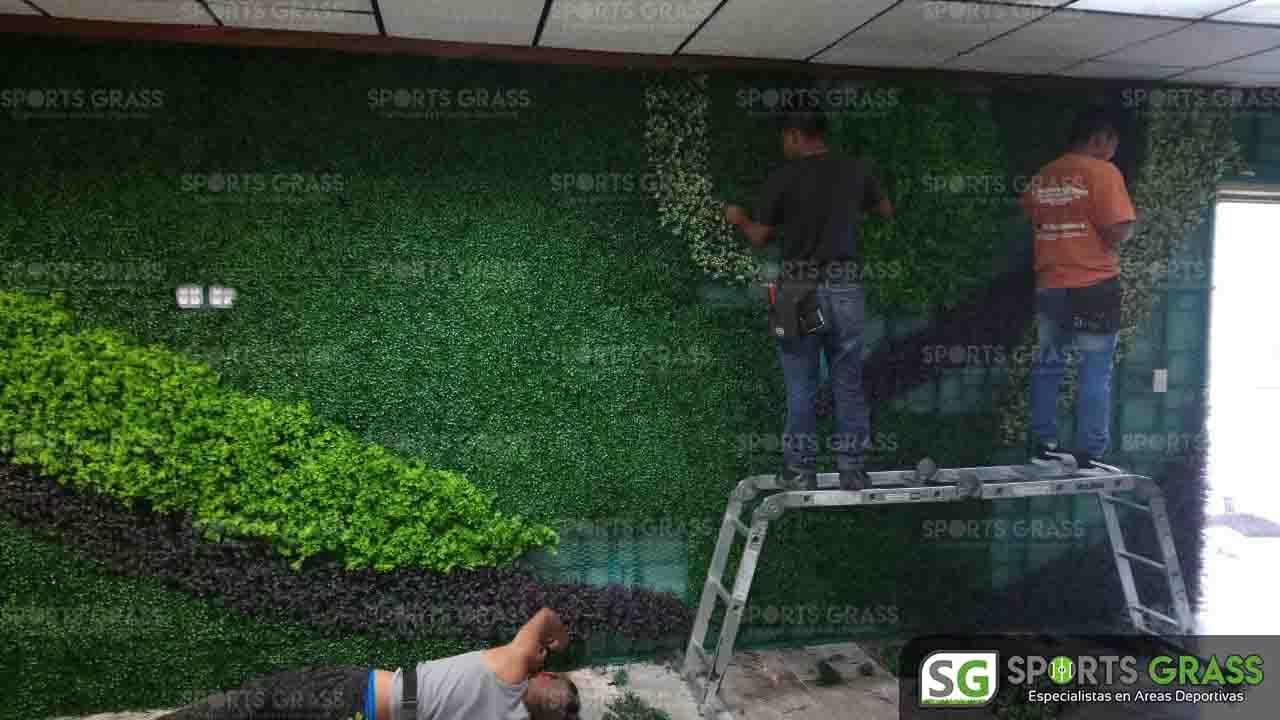 Muro Verde Puebla Sports Grass 08