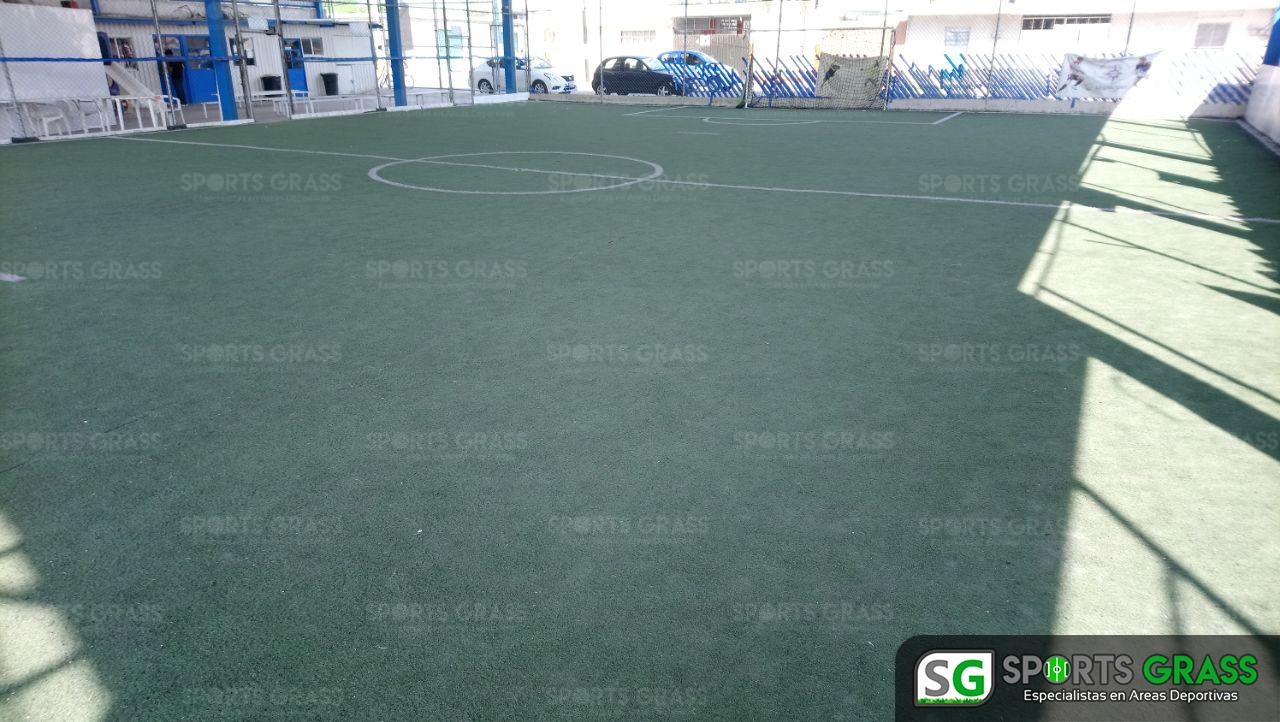 Desinstalacion e Instalacion Cancha de Futbol 5 Puebla, Puebla Sports Grass 02