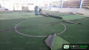 Desinstalacion e Instalacion Cancha de Futbol 5 Puebla, Puebla Sports Grass 04
