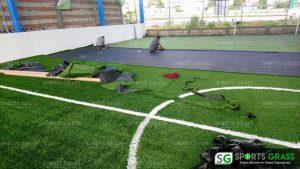 Desinstalacion e Instalacion Cancha de Futbol 5 Puebla, Puebla Sports Grass 07