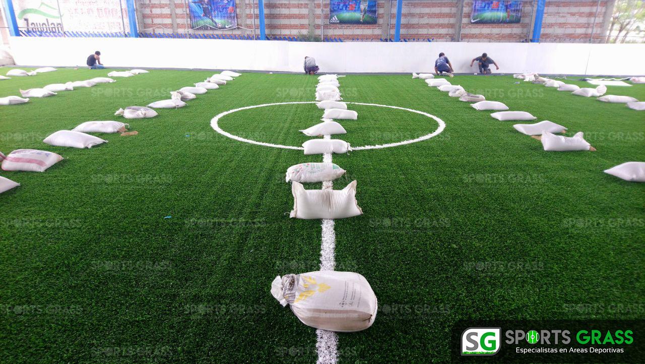 Desinstalacion e Instalacion Cancha de Futbol 5 Puebla, Puebla Sports Grass 09