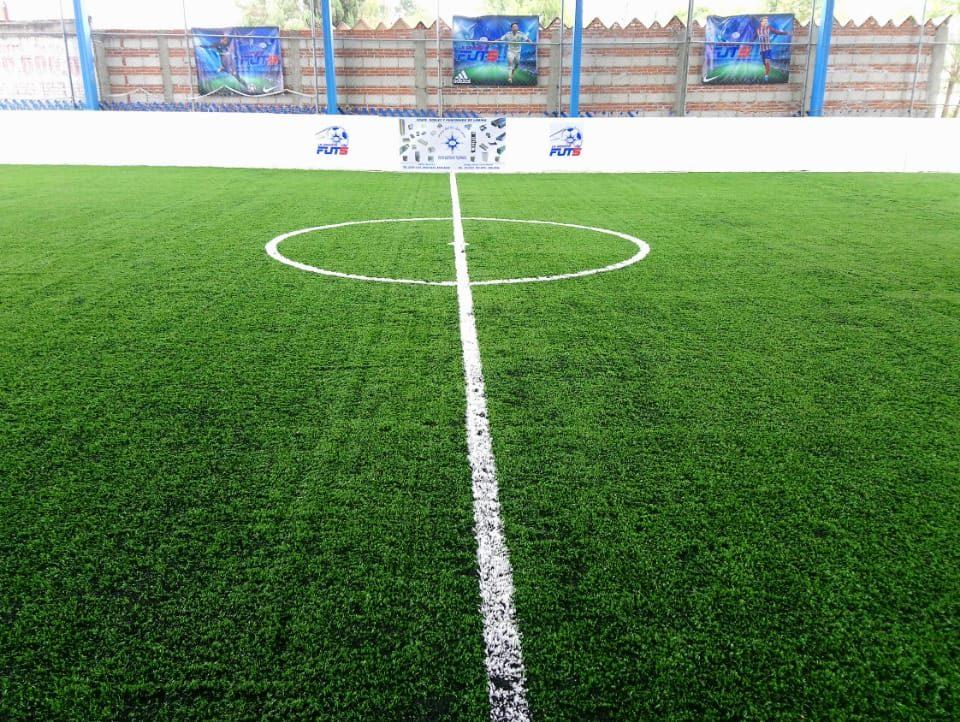 Desinstalacion e Instalacion Cancha de Futbol 5 Puebla, Puebla Sports Grass 1