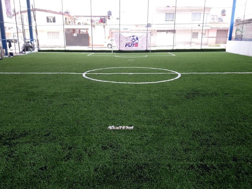 Desinstalacion e Instalacion Cancha de Futbol 5 Puebla, Puebla Sports Grass 13