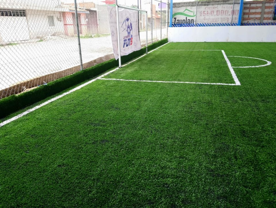 Desinstalacion e Instalacion Cancha de Futbol 5 Puebla, Puebla Sports Grass 14