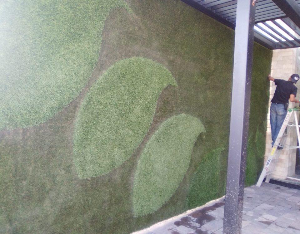 Muro Verde Pasto Sintetico Zavaleta Puebla Sports Grass 03