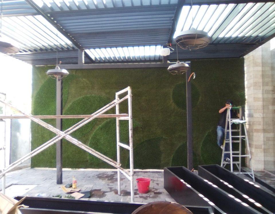 Muro Verde Pasto Sintetico Zavaleta Puebla Sports Grass 04