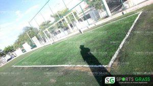 Cancha de fútbol soccer, reparación del círculo central de la cancha y áreas chicas Sports Grass 13