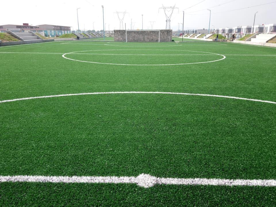 Constructora SADASI Tizayuca Hidalgo Dos Canchas Fútbol 7 Sports Grass 17
