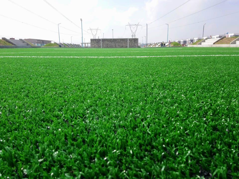 Constructora SADASI Tizayuca Hidalgo Dos Canchas Fútbol 7 Sports Grass 18
