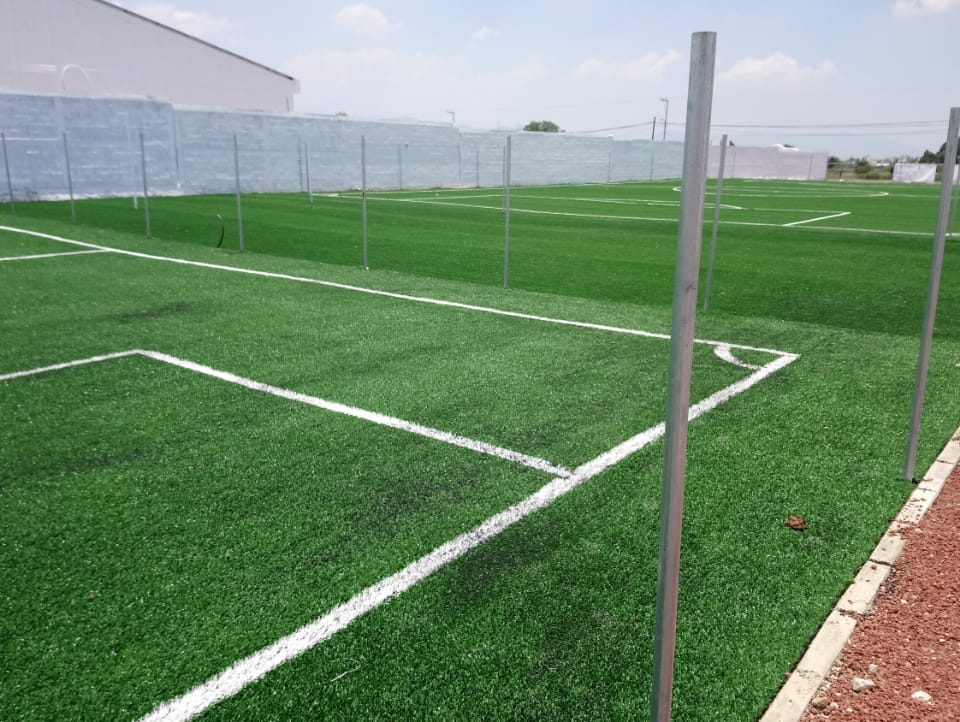 Canchas fútbol 5 y 7, área de gimnasio Actopan hidalgo 07