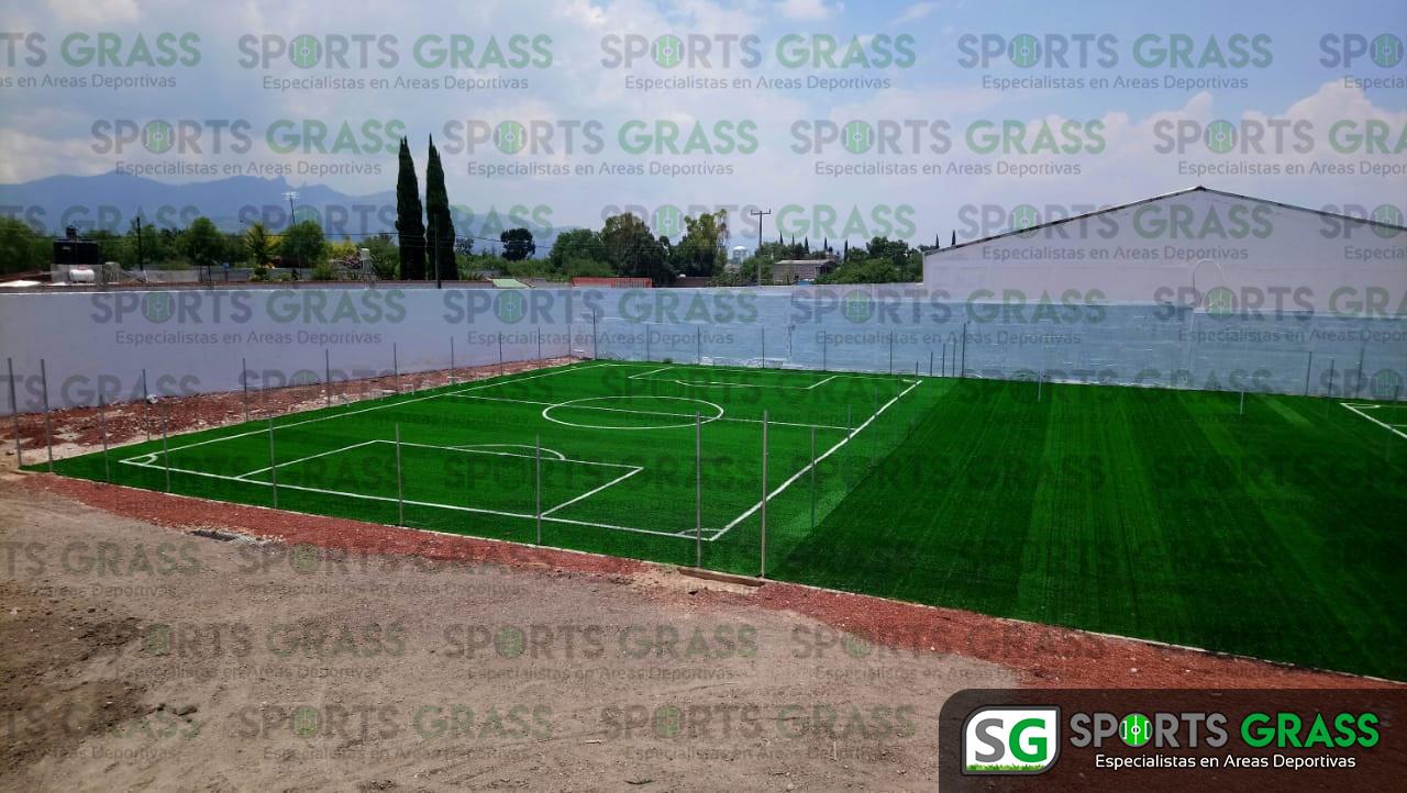 Canchas fútbol 5 y 7, área de gimnasio Actopan hidalgo 10