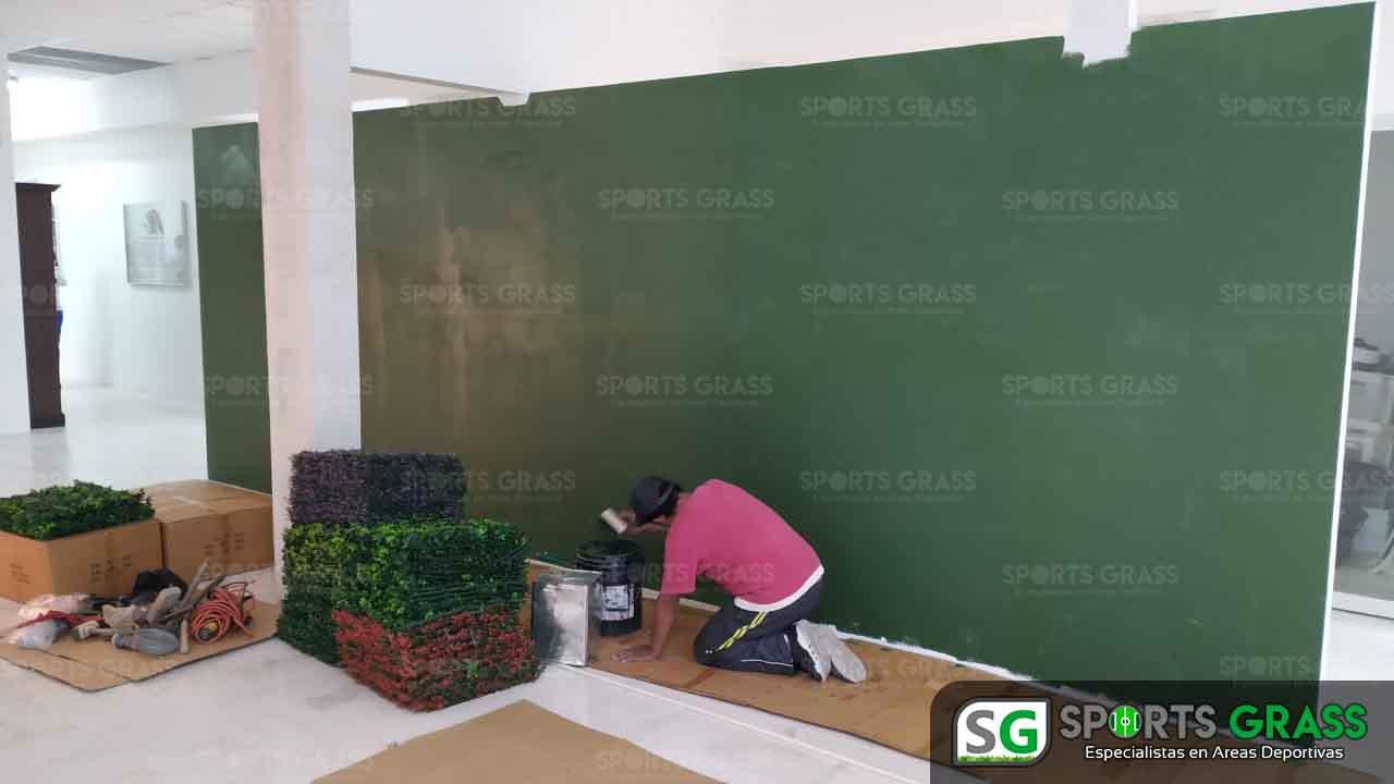 Muro Verde INE Puebla Sports Grass 05