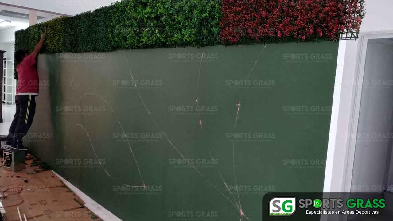 Muro Verde INE Puebla Sports Grass 06