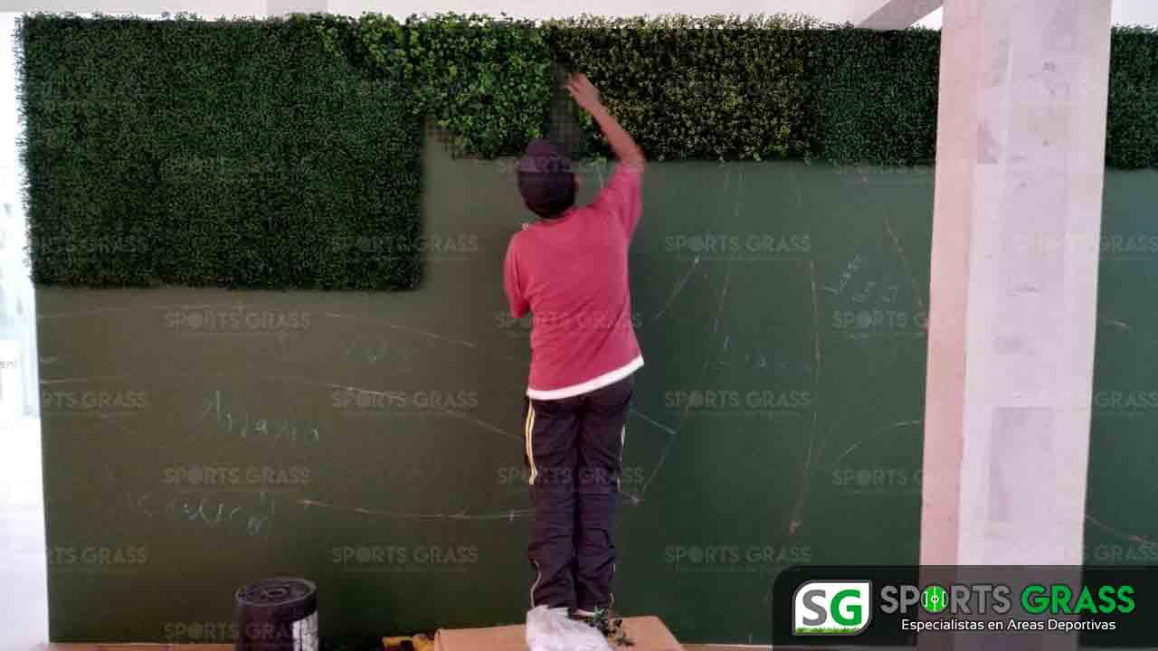Muro Verde INE Puebla Sports Grass 08