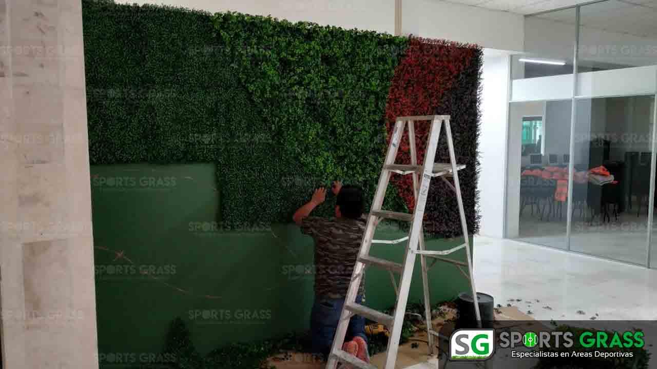 Muro Verde INE Puebla Sports Grass 11