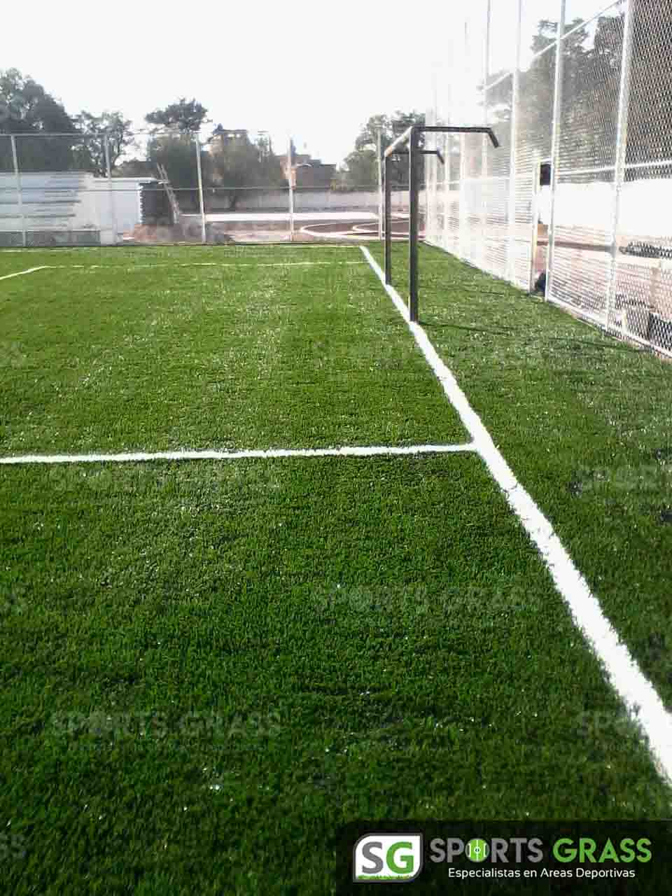 Cancha Futbol 7 Apaseo el Alto Guanajuato Sports Grass 04