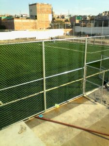 Cancha Futbol 7 Apaseo el Alto Guanajuato Sports Grass 09