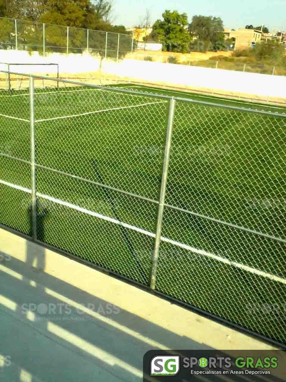 Cancha Futbol 7 Apaseo el Alto Guanajuato Sports Grass 10
