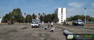 Cancha Futbol Soccer BINE Benemerito Instintuto Normal del Estado Puebla Sports Grass 013