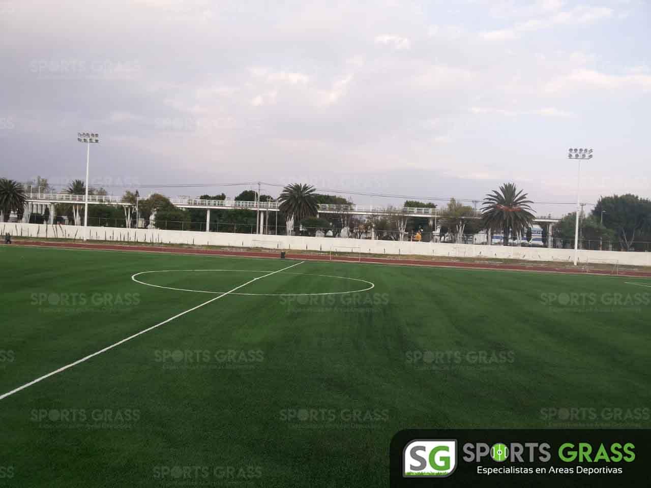 Cancha Futbol Soccer BINE Benemerito Instintuto Normal del Estado Puebla Sports Grass 03