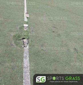 Cancha Futbol Soccer BINE Benemerito Instintuto Normal del Estado Puebla Sports Grass 04