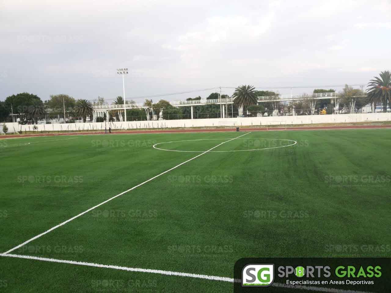 Cancha Futbol Soccer BINE Benemerito Instintuto Normal del Estado Puebla Sports Grass 15