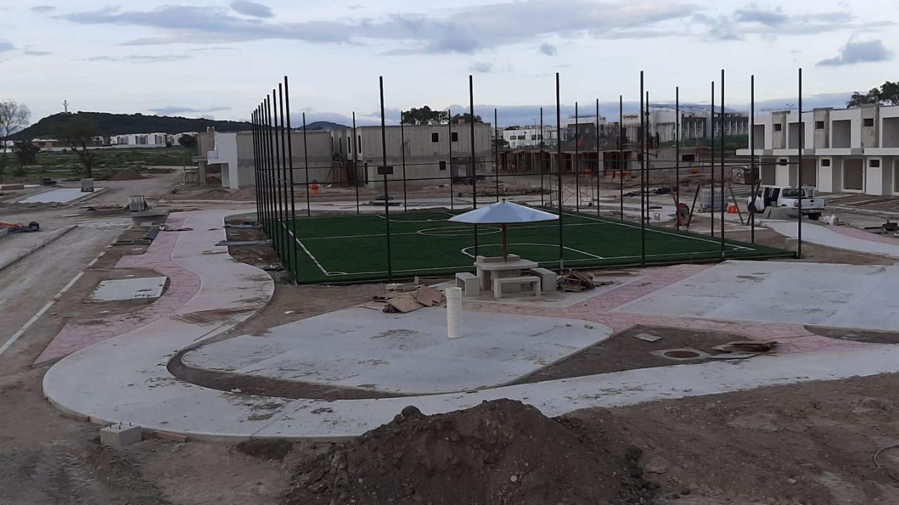 Cancha Futbol 5 Tizayuca Hidalgo Grupo SADASI Sports Grass 01