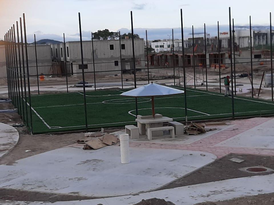 Cancha Futbol 5 Tizayuca Hidalgo Grupo SADASI Sports Grass 02