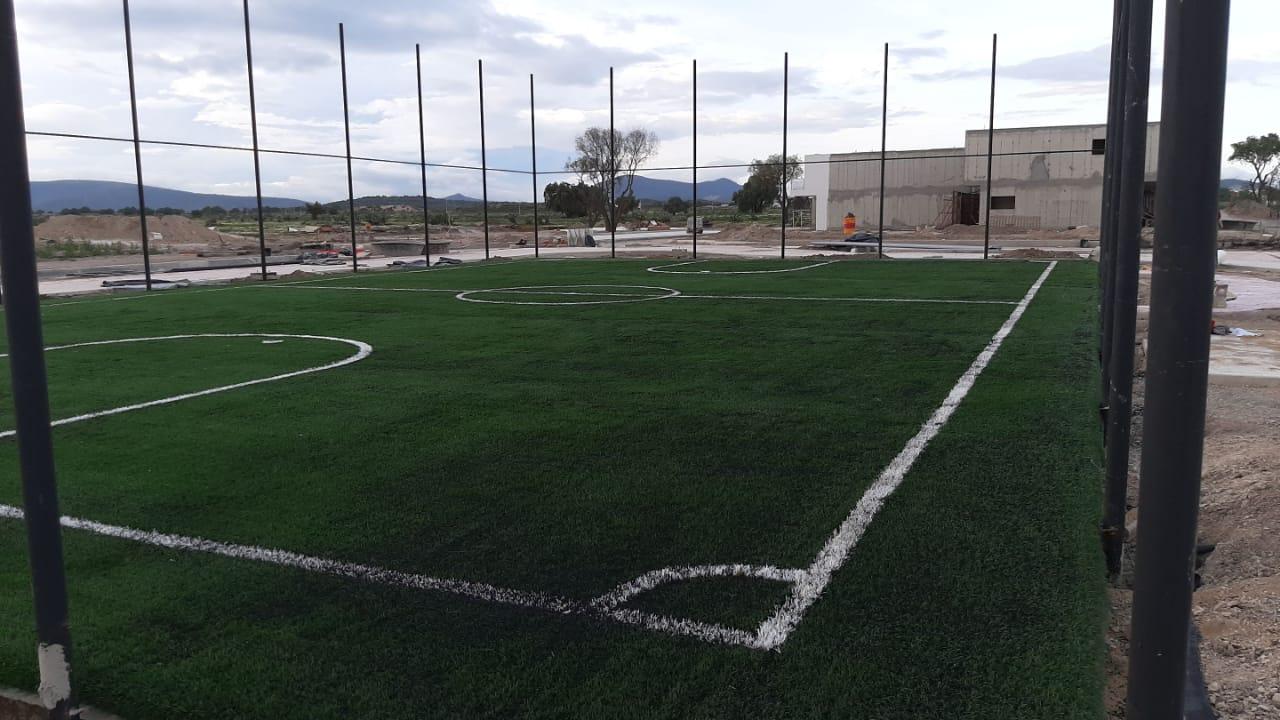 Cancha Futbol 5 Tizayuca Hidalgo Grupo SADASI Sports Grass 03