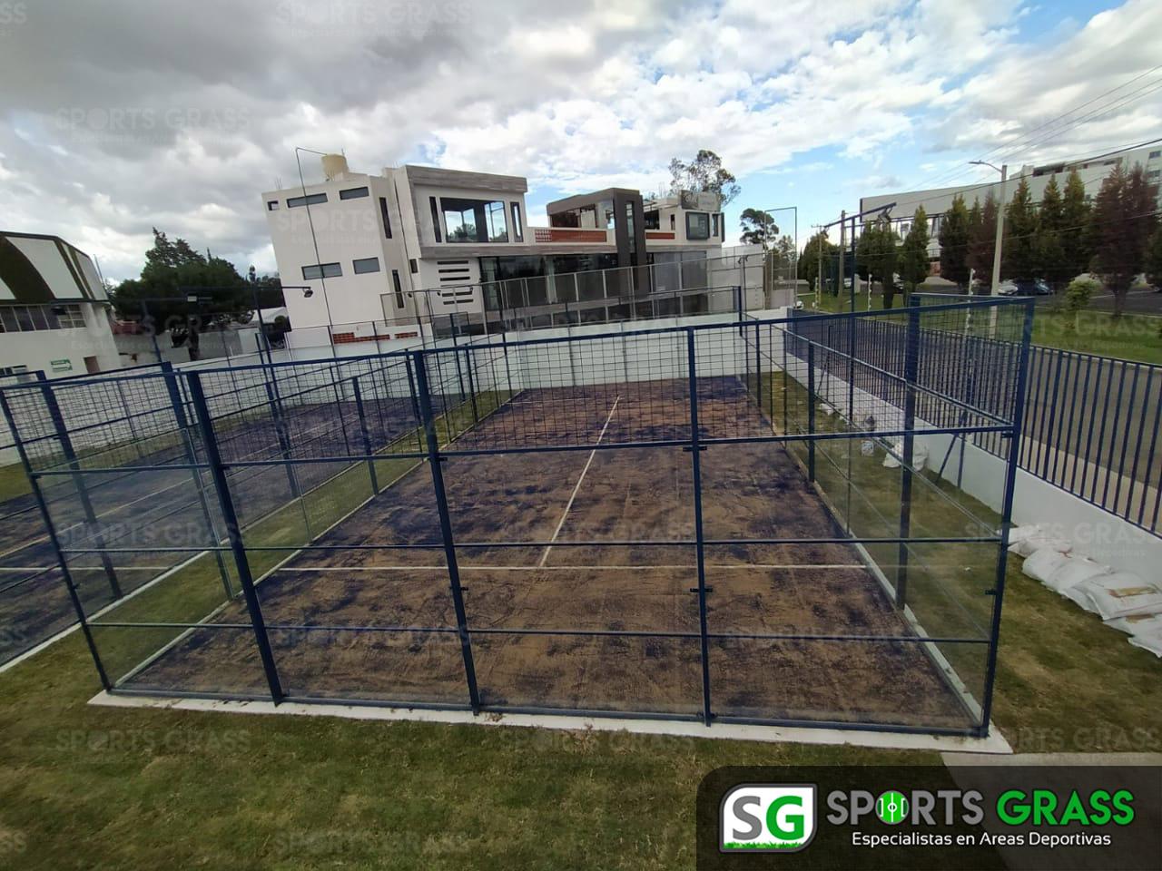 2 canchas de pádel recta a Cholula Puebla SportsGrass 03
