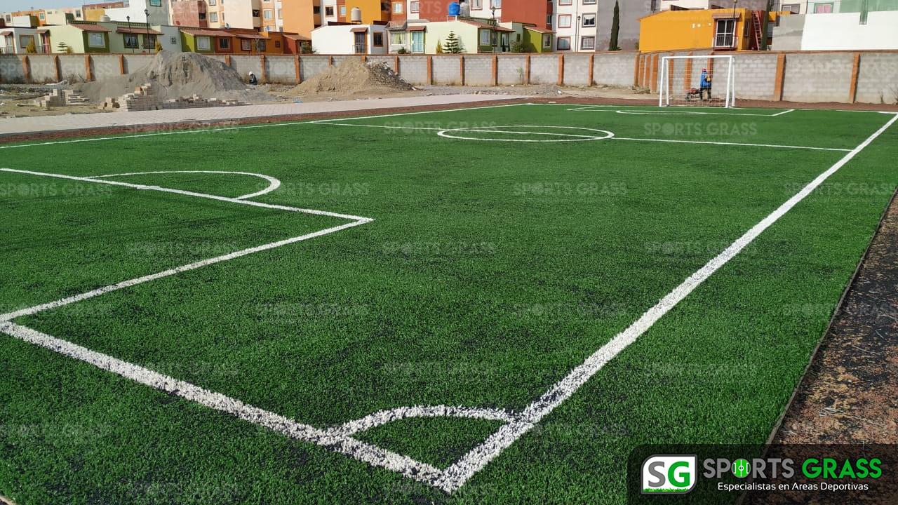 Cancha Futbol 5 Misiones de San Francisco Puebla Sports Grass 01
