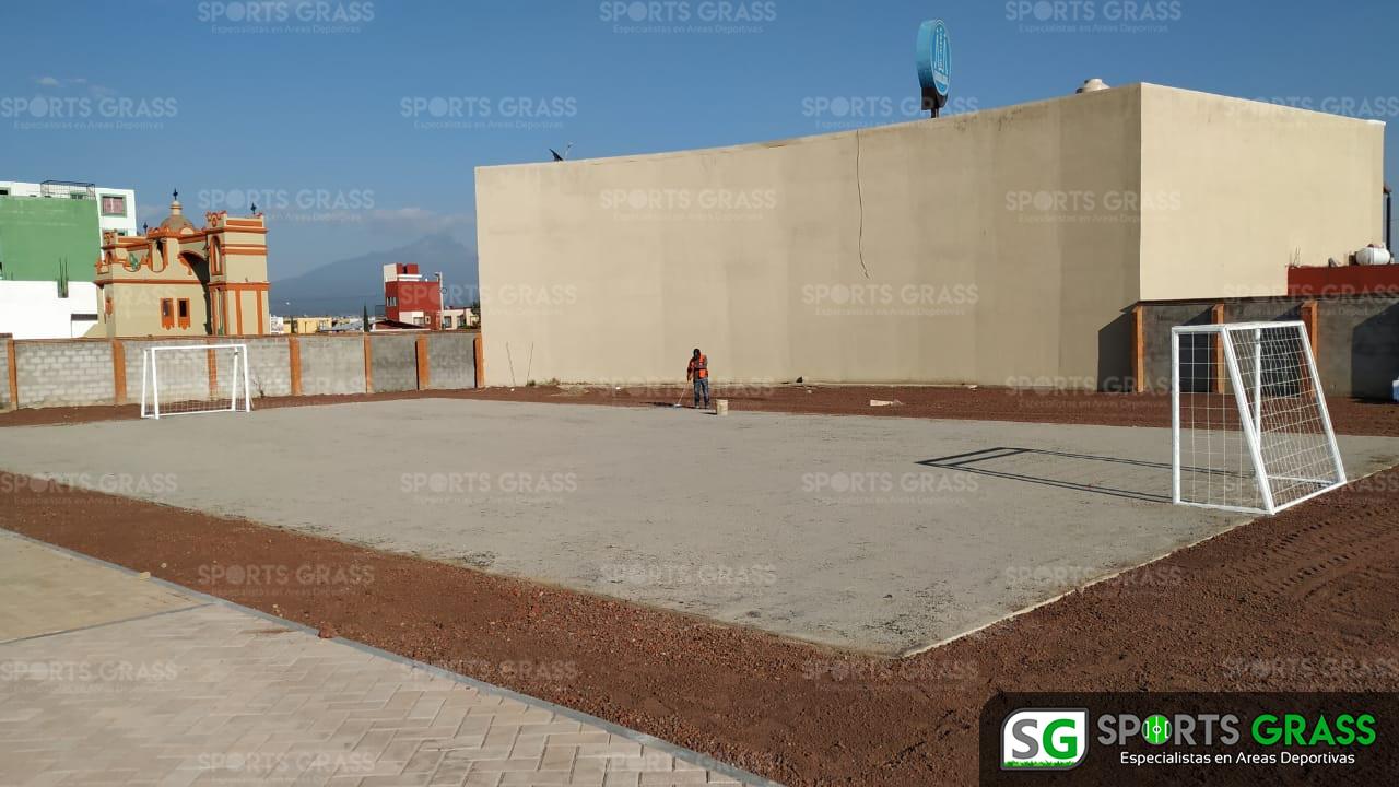 Cancha Futbol 5 Misiones de San Francisco Puebla Sports Grass 03