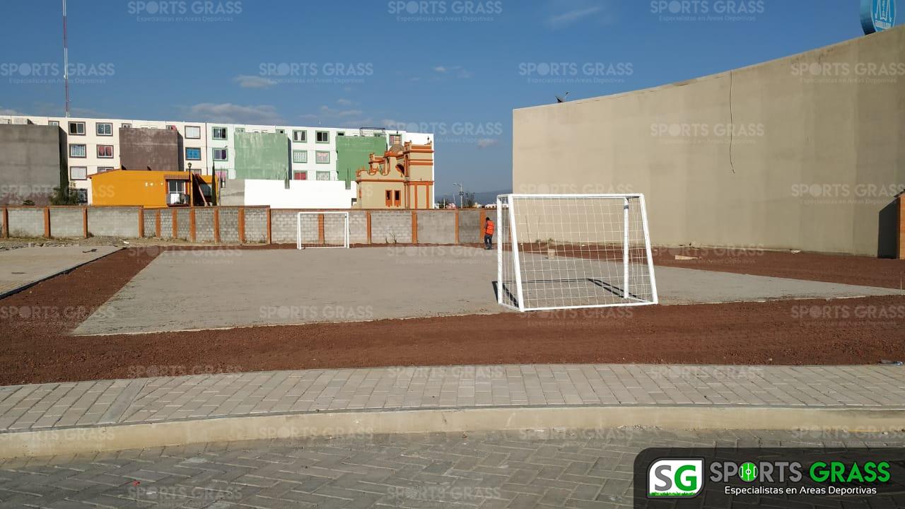 Cancha Futbol 5 Misiones de San Francisco Puebla Sports Grass 04