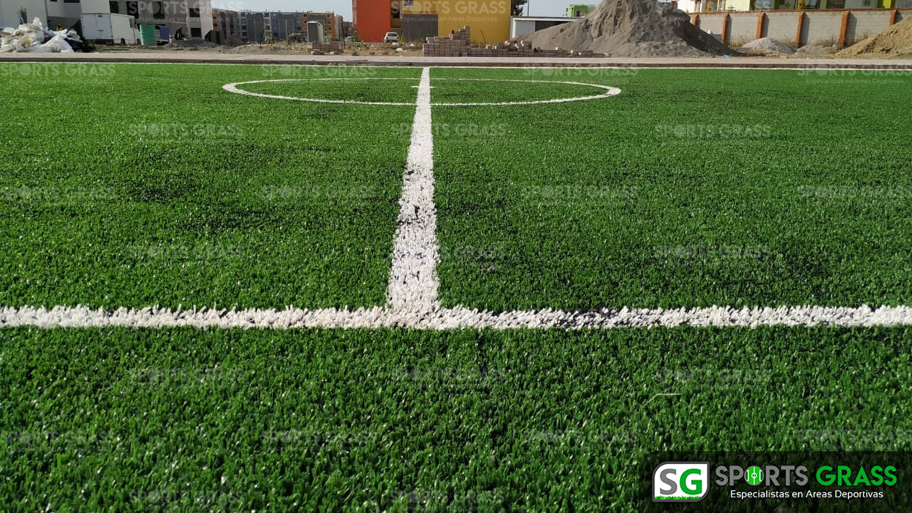Cancha Futbol 5 Misiones de San Francisco Puebla Sports Grass 05
