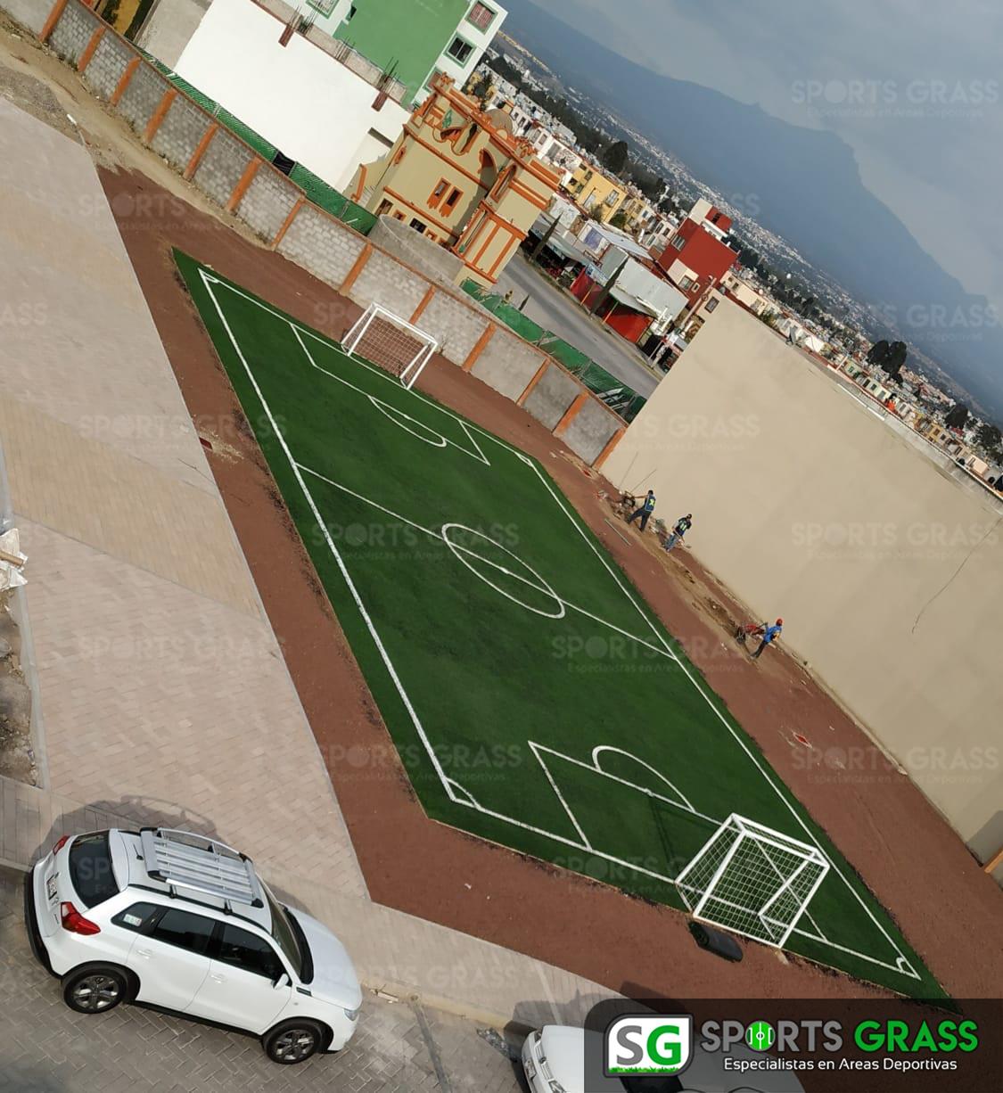 Cancha Futbol 5 Misiones de San Francisco Puebla Sports Grass 07