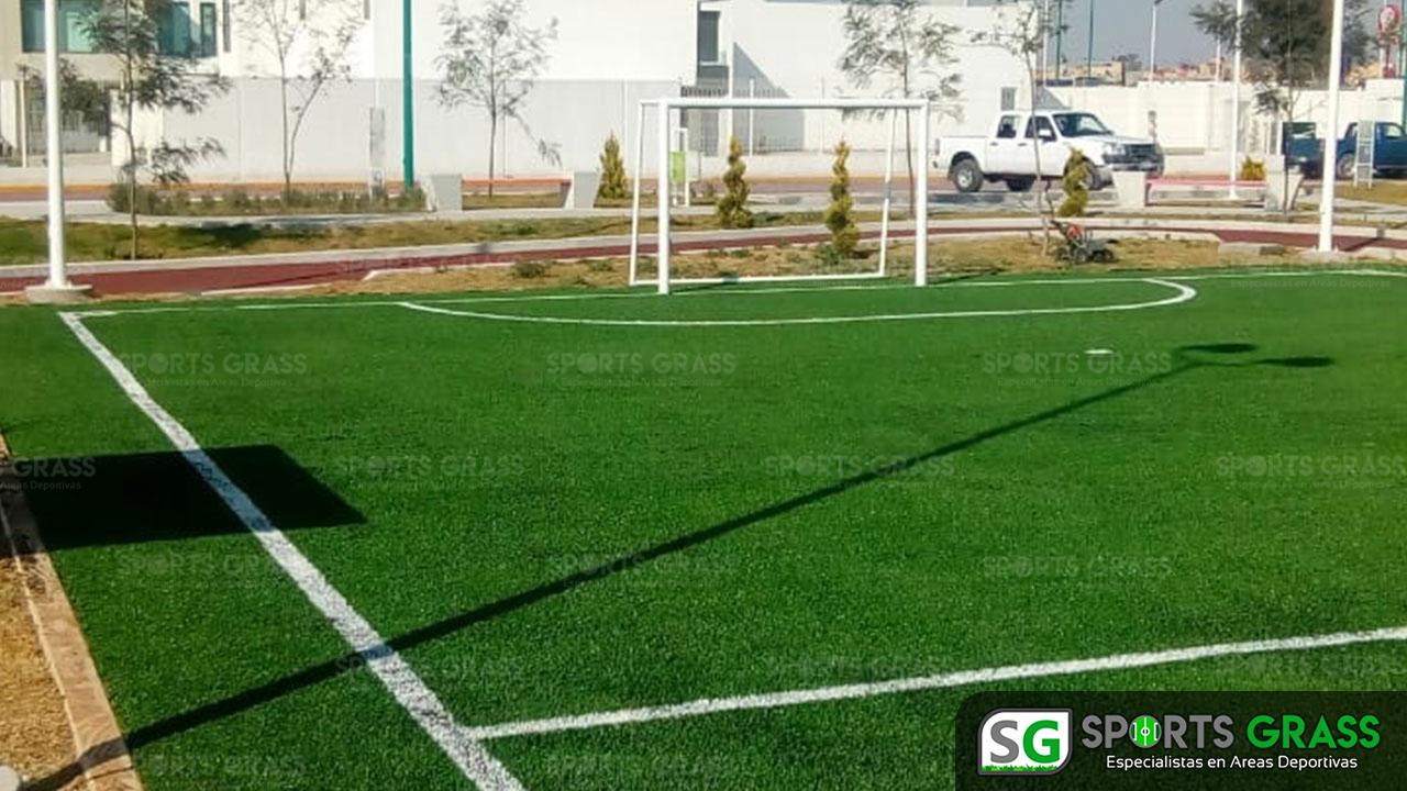 Cancha Futbol 5 Tecámac Estado de Mexico Grupo SADASI Sports Grass 01