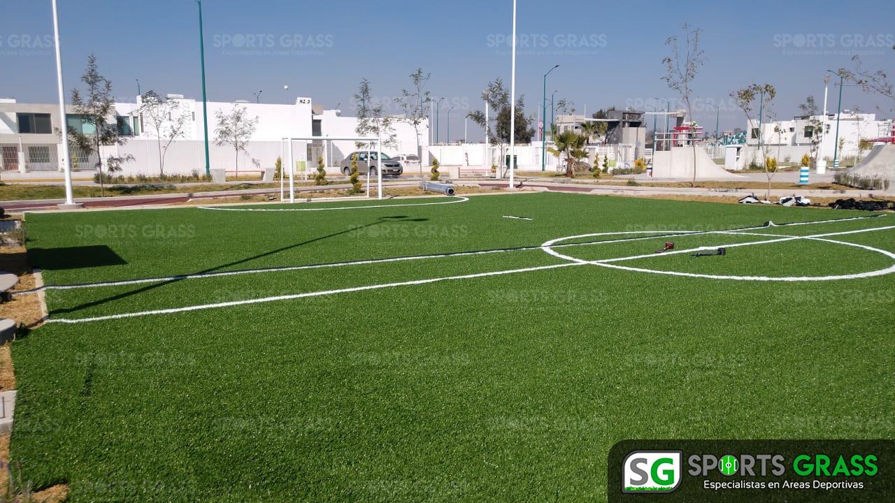 Cancha Futbol 5 Tecámac Estado de Mexico Grupo SADASI Sports Grass 06