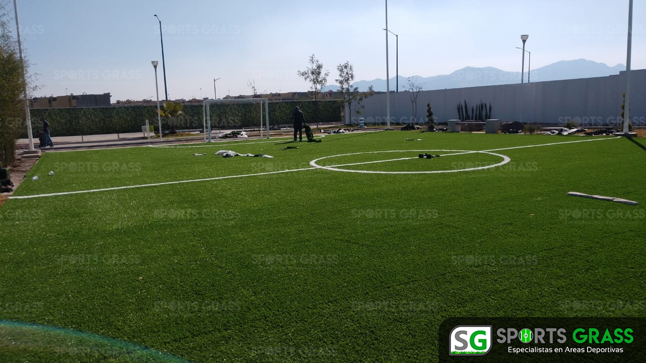 Cancha Futbol 5 Tecámac Estado de Mexico Grupo SADASI Sports Grass 07