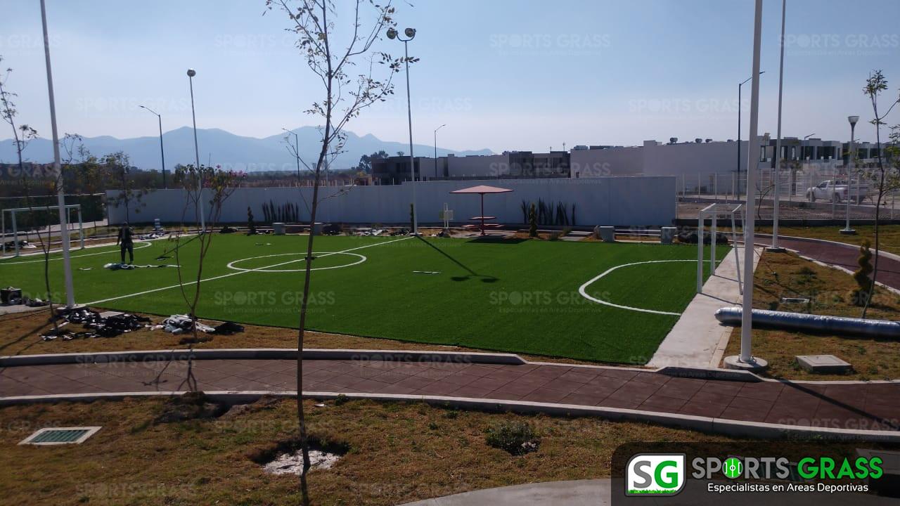 Cancha Futbol 5 Tecámac Estado de Mexico Grupo SADASI Sports Grass 08