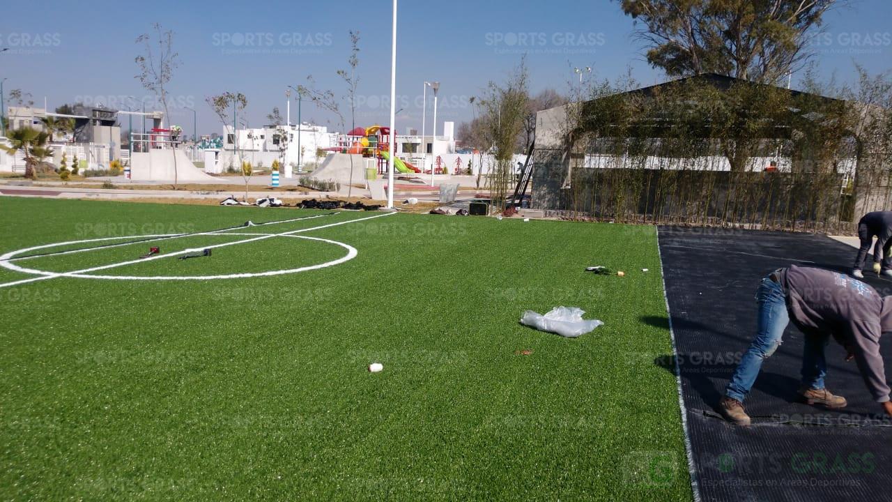 Cancha Futbol 5 Tecámac Estado de Mexico Grupo SADASI Sports Grass 09