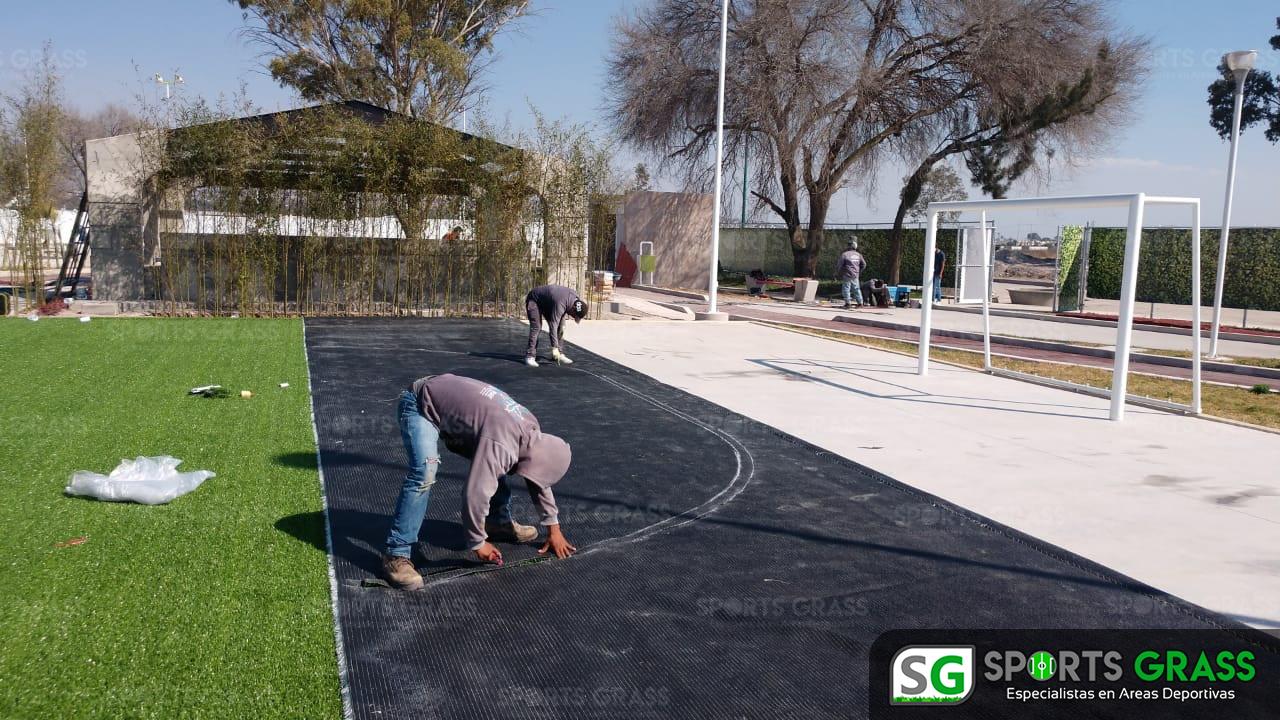 Cancha Futbol 5 Tecámac Estado de Mexico Grupo SADASI Sports Grass 10