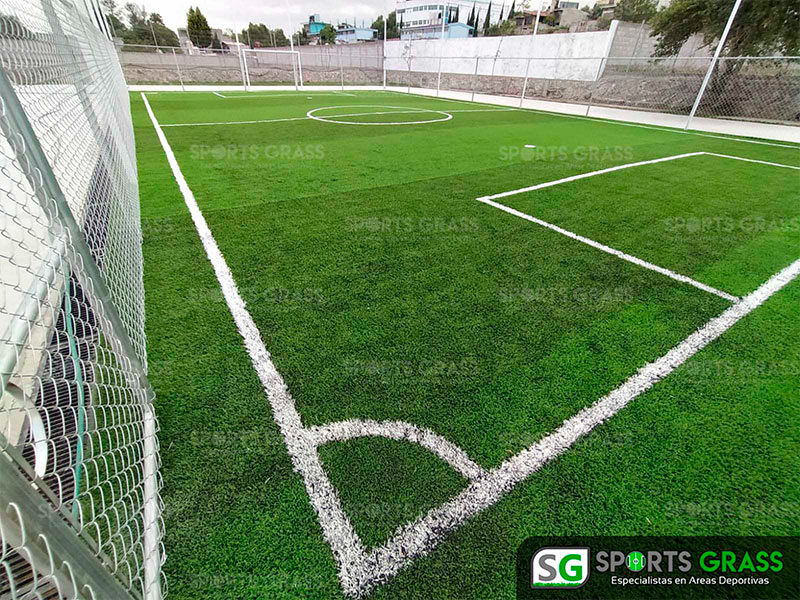 Cancha futbol 5 colegio Decroly Tlaxcala SportsGrass 01