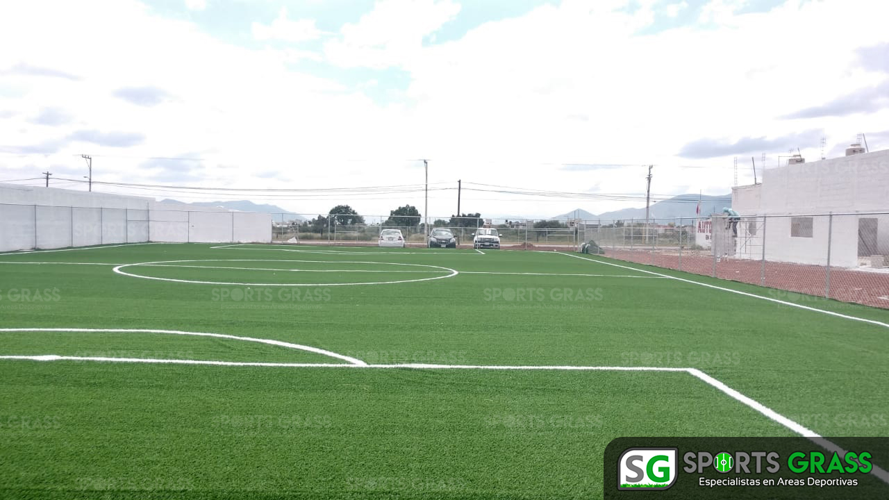 Canchas fútbol 5 y 7, área de gimnasio Actopan hidalgo 03