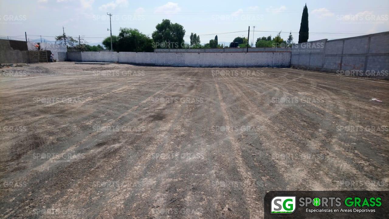 Canchas fútbol 5 y 7, área de gimnasio Actopan hidalgo 05