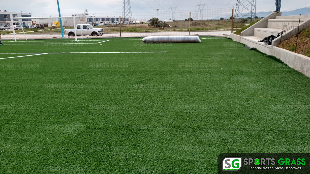 Constructora SADASI Tizayuca Hidalgo Dos Canchas Fútbol 7 Sports Grass 06